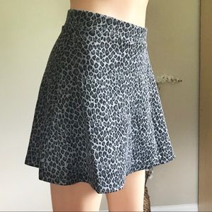 NWT Hot KISS Skater Grey Skirt Size M and Size L
